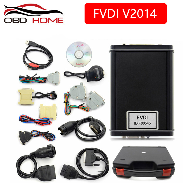 Original FVDI 2014 Full Version Commander Abrites For Most of Car 18 full Set FVDI OBD