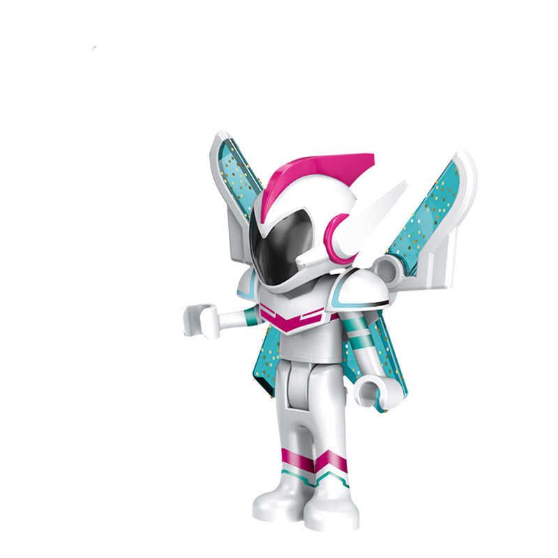 Горячая в розницу из фильмов игра Searle принцесса ангел ссылка щит меч Арчер модель комплект строительный блок игрушка Дети JM243