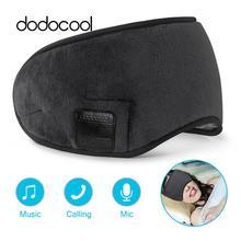 dodocool Wireless Headphone Stereo Sound Headphone Multifunctional Eye Mask Washable Music Eye Cover
