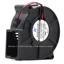 new RUILIAN SCIENCE RBH7530B1 7530 7cm turbo cooling fan Blower 12V Double ball bearing