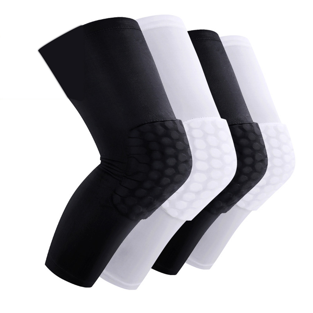 Newly 2 Pcs Kneepad Honeycomb Knee Pads Leg Sleeve Protective Pad Outdoor Sports Support Guards VK-ING