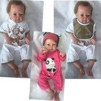 NPK 20inch Full Silicone Reborn Baby Dolls toys for girls 50cm Lifelike born Babies girl doll alive doll for chirldren gifts