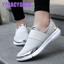 YtracyGold Women Casual Shoes Female Platform Shoes Women Slipony Krasovki Tenis Feminino Ladies Shoes Flats Zapatillas Mujer