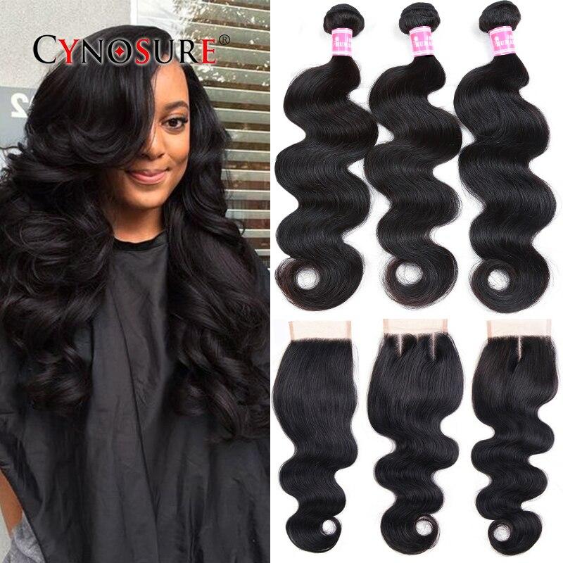 Grade 7A Brazilian Virgin Hair With Closure Cheap