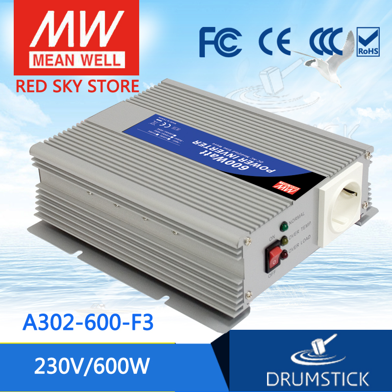 Hot-selling MEAN WELL A302-600-F3 230V  Meanwell A301-600  600W Modified Sine Wave DC-AC Power Inverter