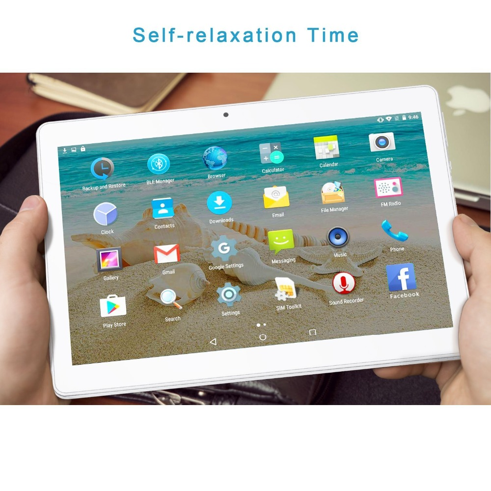 LNMBBS tablet laptop Quad Core Android 7.0 1.3GHz 1GB RAM 16GB ROM Dual WiFi Cameras OTG 10.1 inch Tablet PC chinese music store