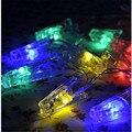 2016 Хорошее Качество 3 М 20 Клип светодиодные аккумулятор для Рождество Гирлянды Партии Свадебные Украшения Рождественские Flasher Сказочных Огней