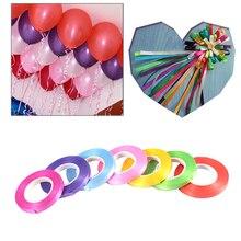 1 rollo 10M globo cinta rollo látex globos decoración boda decoración regalo caja decoración cumpleaños fiesta suministros