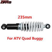 TDPRO 235mm ATV Quad Buggy Rear Shock Absorber Motorcycle Air Suspension Guard For Moto Go Kart Dirt Bike 50cc 70cc 110cc