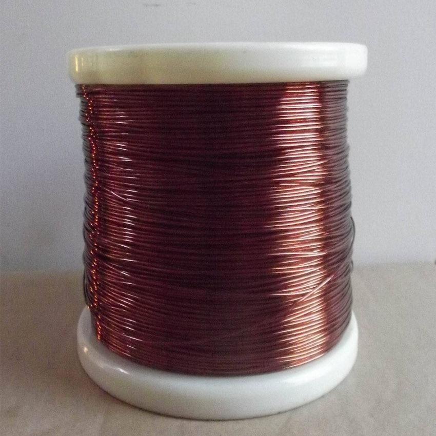 84118c8db7c7 ✅0.5 mm QZ-2-155 New polyester fil de cuivre émaillé rond cuivre de ...