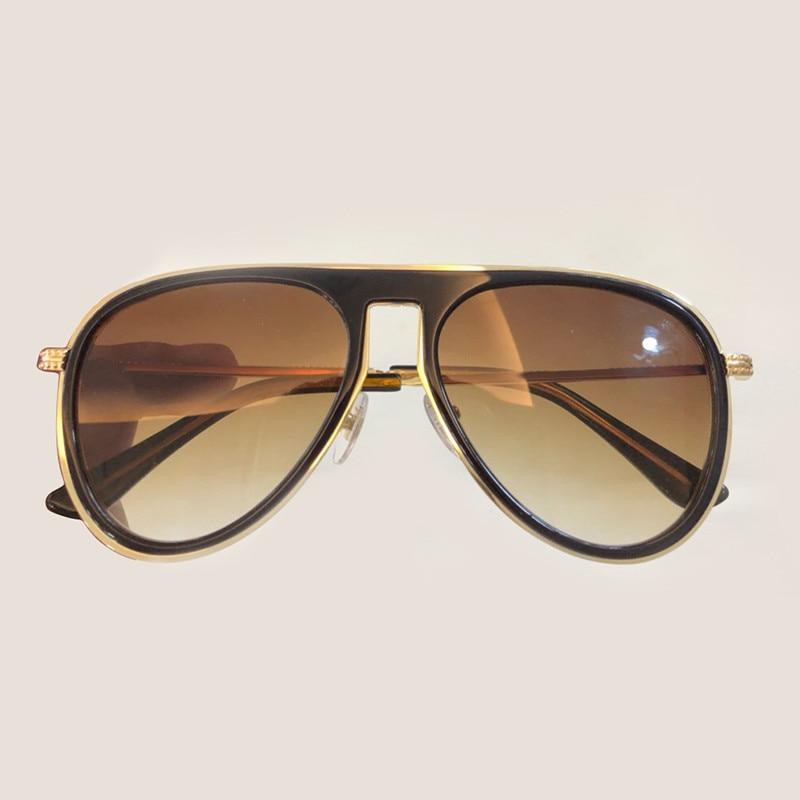 Oculos 6 Sonnenbrille no 7 No Gläser no Objektiv no 1 Qualität 5 Mode no Frauen Designer Sol Feminino no Spiegel Uv400 2 Pilot Hohe Vintage 3 4 no De tqPFpwf