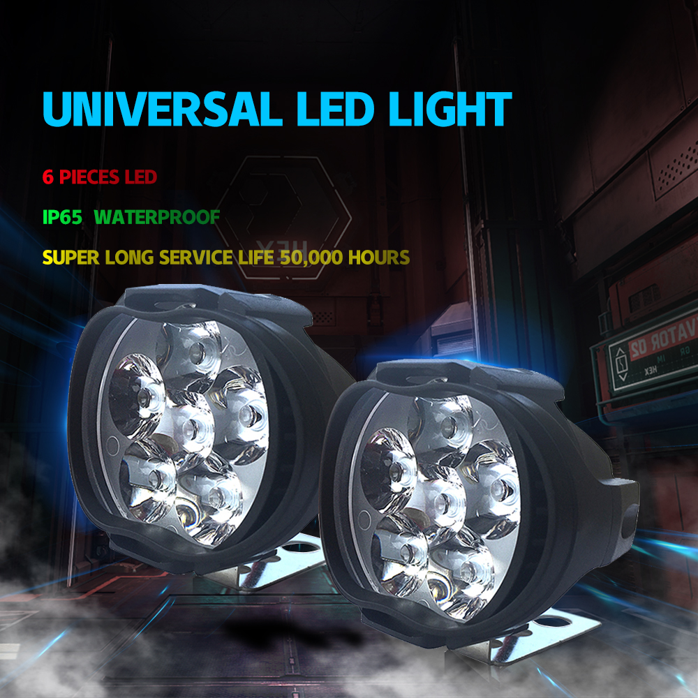 Headlight Led 4x4 12 volts Work lights off road led light bar car styling FOR peugeot 206 Auto Accessories Bicycle Trailer Truck