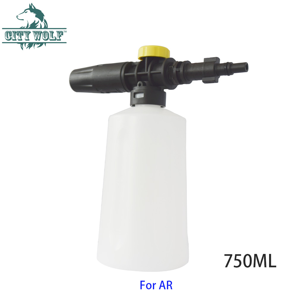 Image 2 - City wolf high pressure washer 750ML snow foam lance for bosch AQT AR Interskol Makita car washer auto car accessory-in Car Washer from Automobiles & Motorcycles