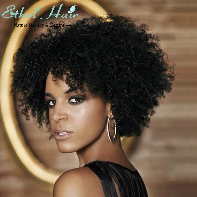 Brazilian Virgin Full None Lace Machine Made Wigs Cheap