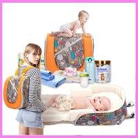 Большой Ёмкость Многофункциональный Портативный Путешествия Пеленки Мумия рюкзак спальный мешок Детские коляски аксессуар для хранения О