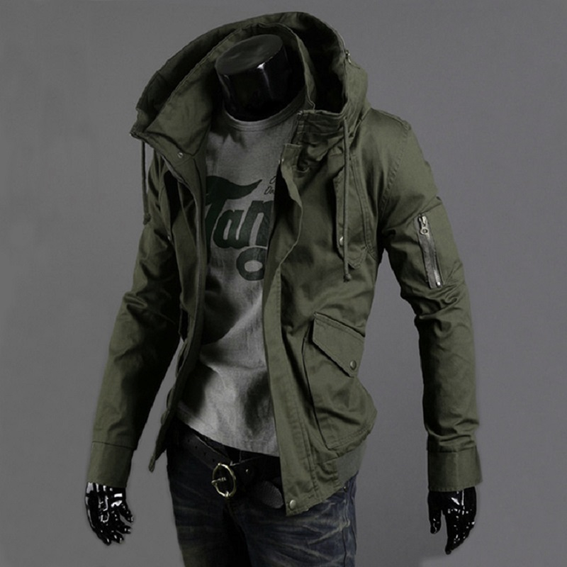 Jackets M65 Military Camouflage Male Clothing Us Army Tactical Mens Windbreaker Hoodie Field Jacket Outwear Casaco Masculino Lustrous Surface Sports & Entertainment