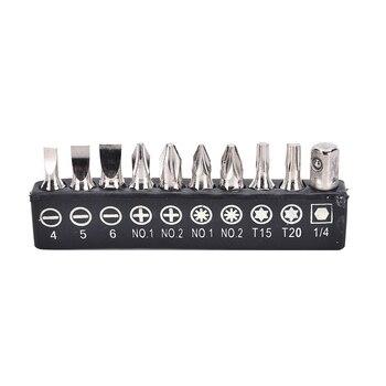 10pcs/Set Electric Alloy Steel Screwdriver Bits For Screwdriver Set Multifunctionl Versatile Screwdrivers