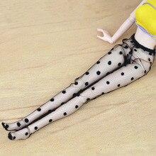 6 pcs De Mode Poupée Accesssories Haute Qualité À La Main Mesh Bas Dentelle  Bas Pantalon Pantalon Legging Pour Barbie Poupée Vêt.. 69244ba3580