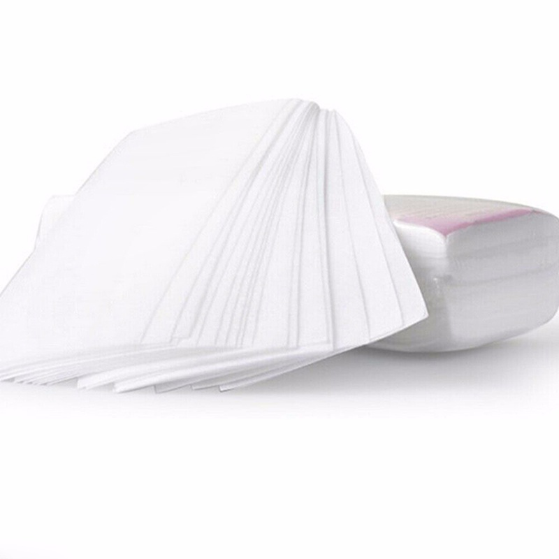 Image 3 - 100pcs Removal Nonwoven Body Cloth Hair Remove Wax Paper Rolls High Quality Hair Removal Epilator Wax Strip Paper-in Hair Removal Cream from Beauty & Health