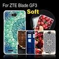 """Для ZTE Blade GF3 GF 3/T320 4.5 """"Телефон Case Cover, высокое Качество Мягкий Силиконовый Чехол Case Чехол Для ZTE GF3 T 320 Случаи Обложка"""