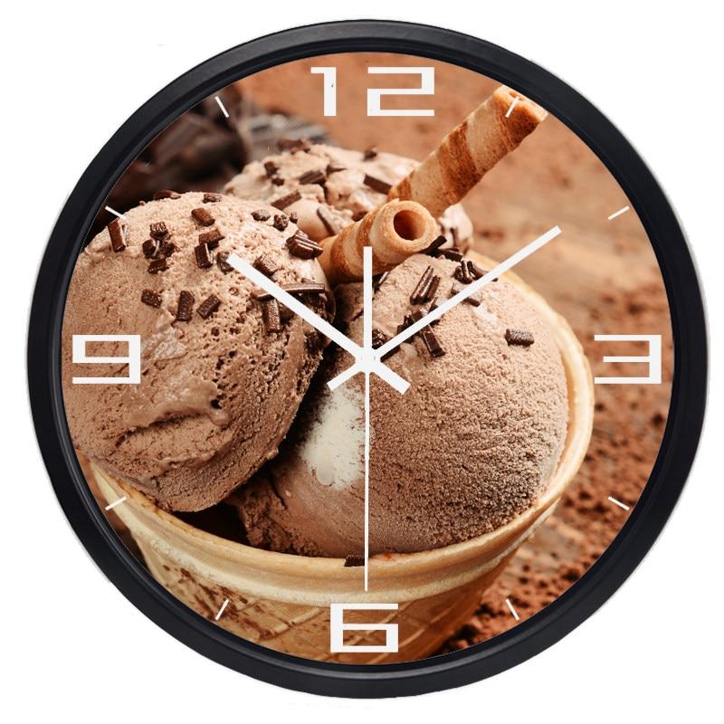 Tienda Online Retro helado de dibujos animados Reloj de pared de la ...