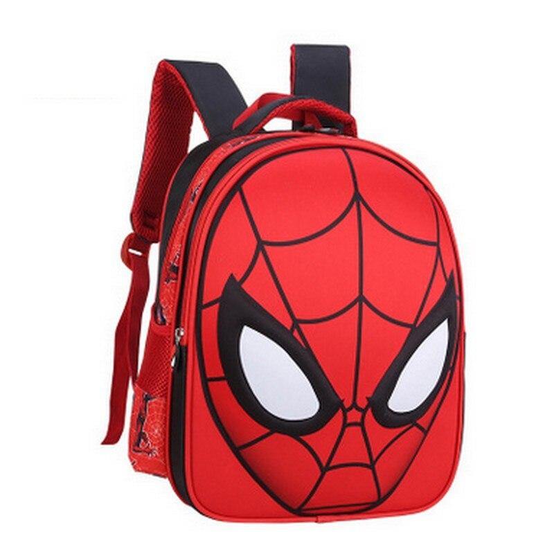 Spider-man toddler school bags preschool cartoon backpack bag spider-man kindergarten schoolbag kids school satchel rucksack пластилин spider man 10 цветов
