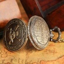 Anime One Piece Chain Pocket Watch Vintage