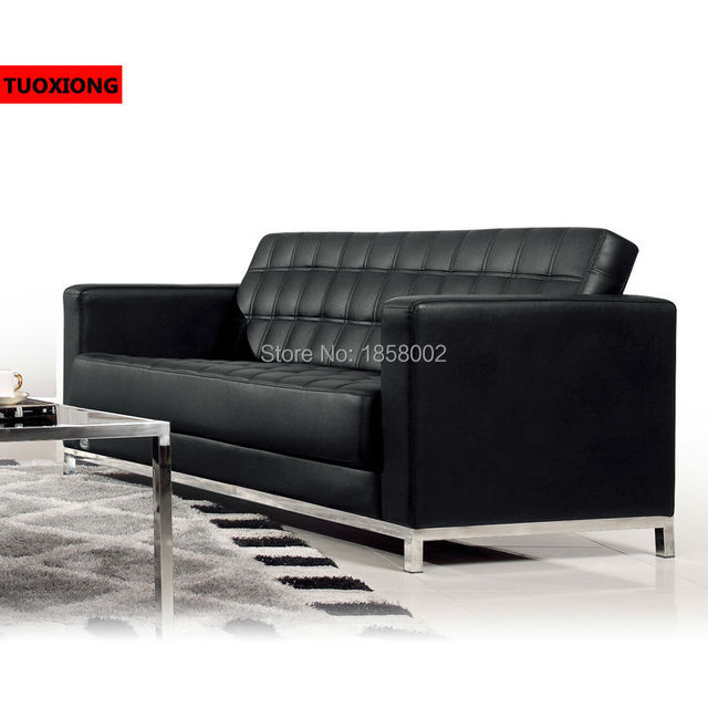 Leather Office Sofa Manufacturer Factory Hotel Lobby Commercial Furniture  Sofas Business Negotiation Sofa