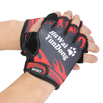 Bicycle Anti Slip Cycling Gloves Soft Washable Half Finger Outdoor Sports Fitness Training Summer Bike MTB Men Women Running