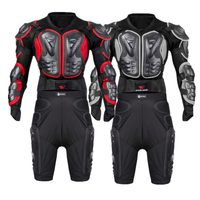 WOSAWE Motorcycle Armor Set Men Chest Back Protection Butt Hip Brace Motocross Racing Joint PE Shell EVA Body Protector Suits