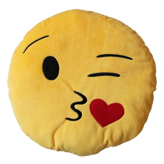 Kiss smiley face