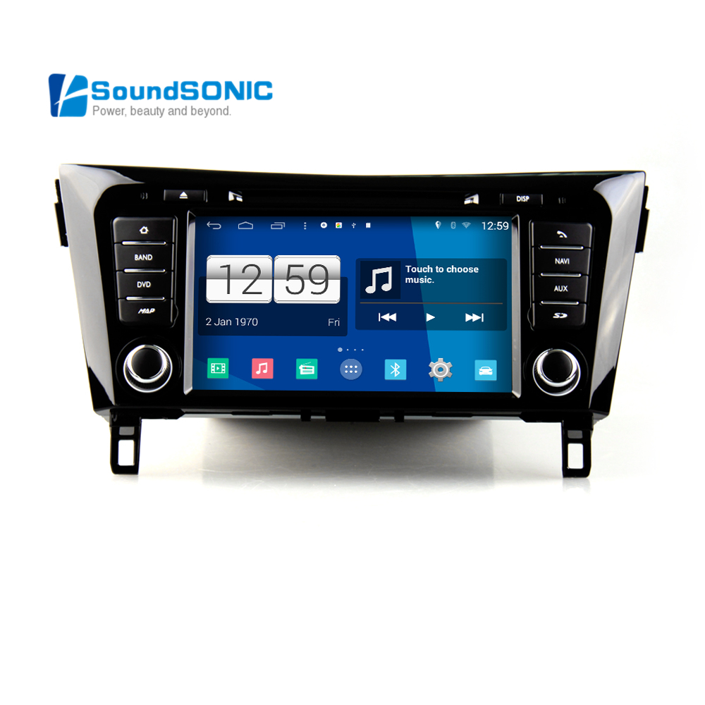 Android 4.4.4 For Nissan For Qashqai For Xtrail For X trail 2014 ...