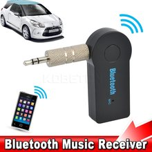 Mini 3.5mm Jack AUX Audio MP3 Music Bluetooth Receiver Carkit Draadloze Handsfree Luidspreker Hoofdtelefoon Adapter A2DP USB voor iphone(China)