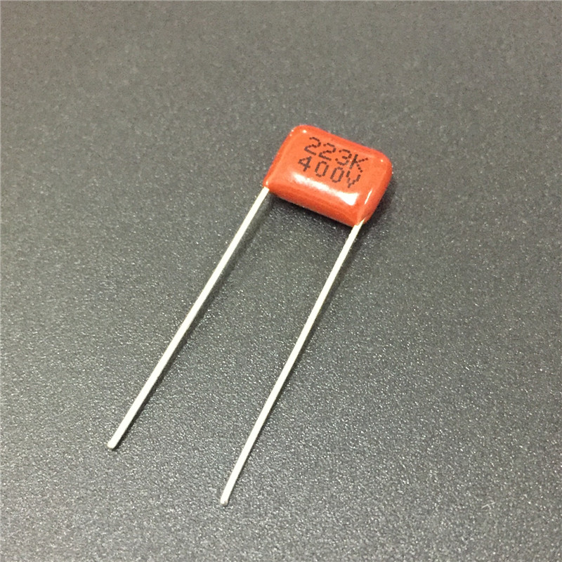 10pcs CBB Capacitor 223 400V 223K 0.022uF 22nF P8 CL21 Metallized Polypropylene Film Capacitor