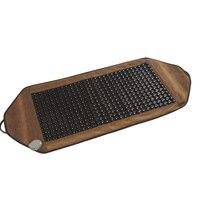 Infrared Heated Tourmaline/Germanium Stone Massage Mat korea heating jade mattress Thermal Cevical massage POP RELAX 50*120cm