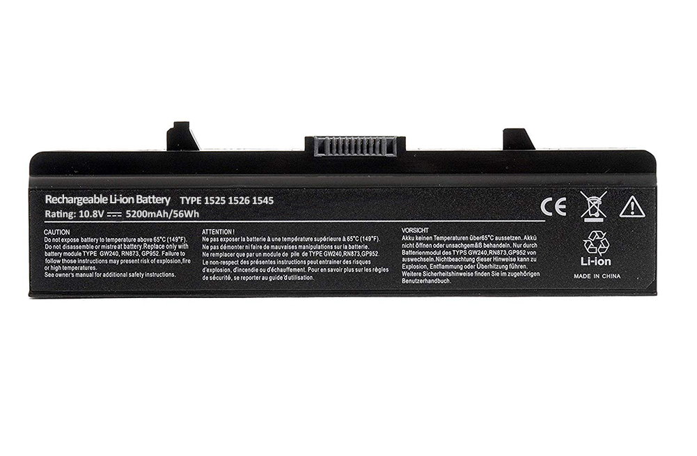 Replacement Laptop Battery for <font><b>Dell</b></font> <font><b>Inspiron</b></font> 1525 1526 1545 1546 <font><b>1750</b></font> 1440 PP29L PP41L 52mAh 10.8V [Li-ion 3 / 6-cell] image