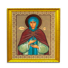 Diamond Embroidery 5D Diy painting Religious Madonna Mosaic Idol Of Cross-Stitch Leader.