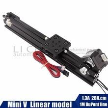 Openbuilds 17hs3401 NEMA17 шаговый двигатель мини v-слот линейный привод линейная модель для маршрутизатора комплект Reprap 3D принтер sapre запчасти