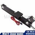 Openbuilds 17hs3401 NEMA17 actuatorLinear modelo Stepper Mini motor V-Slot Linear para router kit impressora Reprap 3D sapre peças