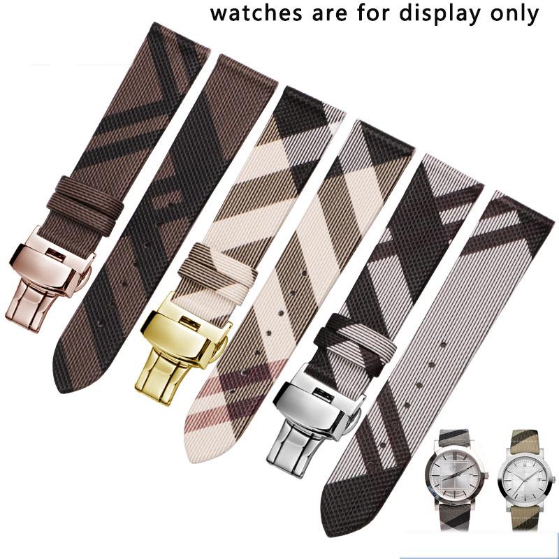 PU+Back Cowhide Bracelet Women Watchband Watch Strap For BU1938 12 14 16 18 20mm 22mm Wristwatches Band Watch Belt