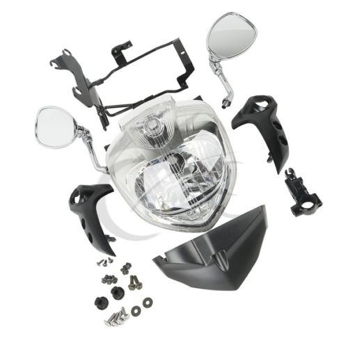 HEADLIGHT SET HEAD LIGHT ASSEMBLY FOR 2007-2009 YAMAHA FZ6 FZ6N 2007-2010 motorcycle aluminum cooler radiator for yamaha fz6 fz6n fz6 n fz6s 2006 2007 2008 2009 2010 page 7