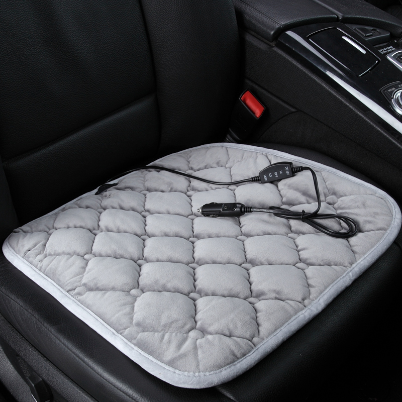 Winter car heated cushion car office chairs electric heated seat cushion carbon fiber electric heating