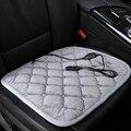 2017 coche del Invierno calentó el amortiguador del coche de oficina sillas de asiento con calefacción eléctrica cojín de calefacción eléctrica de fibra de carbono 12 v