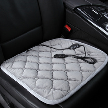 Winter car heated cushion office chairs electric seat carbon fiber heating 12v trainborn