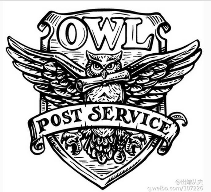 Aliexpress Com Buy Retro Harry Potter Post Service Owl