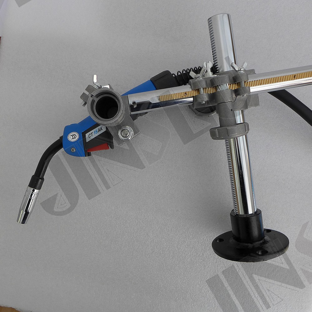 Welding Torch Holder Support Mig Gun Holder Clamp Mountings for MIG MAG CO2 TIG Welding Machine Welding Positioner Turntable nt1 3t air cooled gas metal arc welding gun north mig welding torch coupled with twe co fitting 3 meter