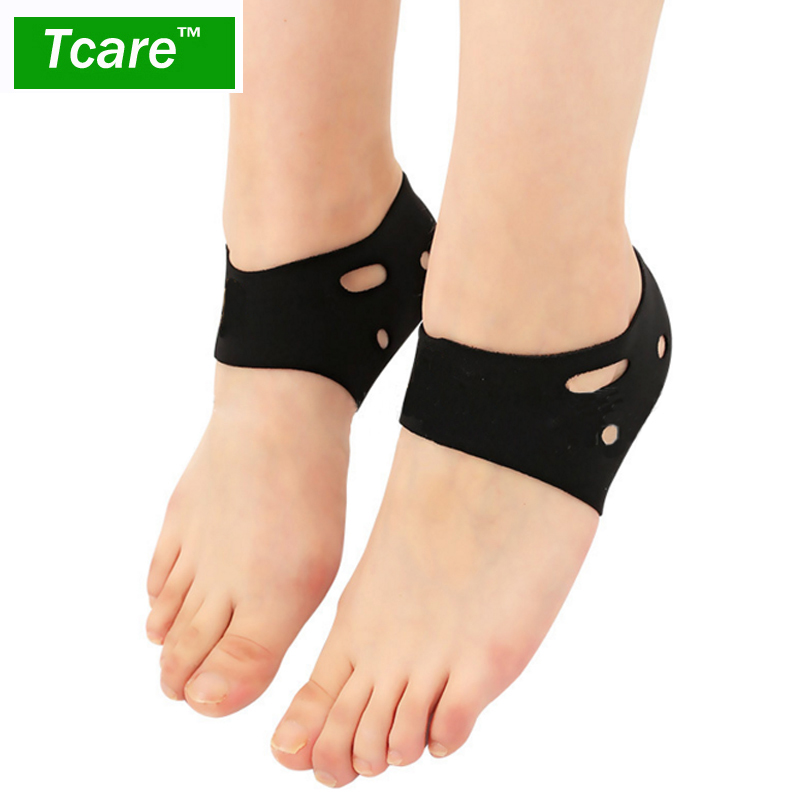 Tcare 1 Pair Ankle Heel Protector Brace Breathable Sports Ankle Support Heels Braces Foot font