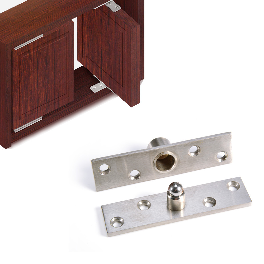 Internal Door Hinges >> Us 12 11 30 Off 4pcs Stainless Steel Rotating Hinge Pivot Internal Door Hinges Rotating Hinge Furniture Hinge Hardware Accessories In Cabinet Hinges