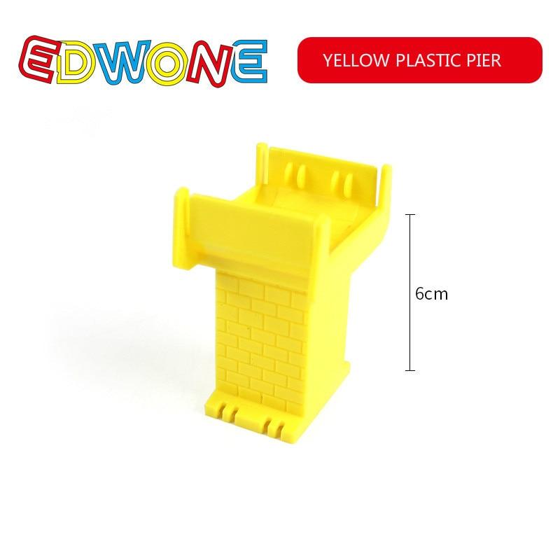 YELLOW PLASTIC PIER
