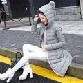 2016 Новая коллекция весна куртка женщин зимнее пальто женщин теплая верхняя одежда Тонкий Мягкий хлопок пальто Куртки Вскользь Женская Одежда Высокого Качества